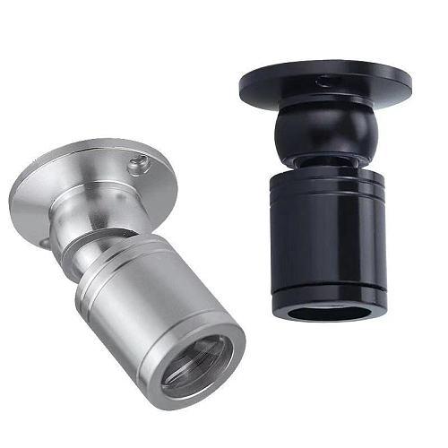 1W Led Recessed Cabinet Mini Spot Light 110V 220V Downlight DC12V Jewelry Show Include Led Driver 4000K Ceiling Light Lamp