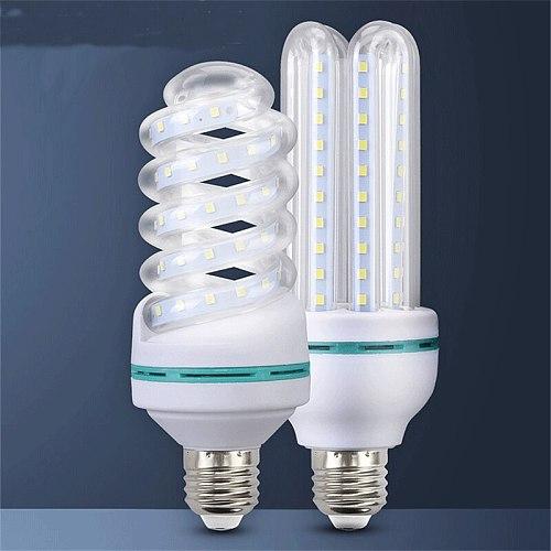 E27 led energy saving bulb spiral tube bulb home white light indoor bed room lamp CFL fluorescent