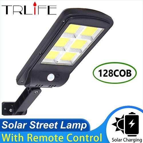 360COB LED Solar Street Light  Outdoor Solar Wall Lamp PIR Motion Sensor Powered Sunlight Lighting for Garden Decoration Lantern