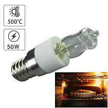 110V/220V 50W Oven Light Bulb High Temperature Resistant Safe Halogen Lamp Dryer Microwave Bulb for Household Lighting