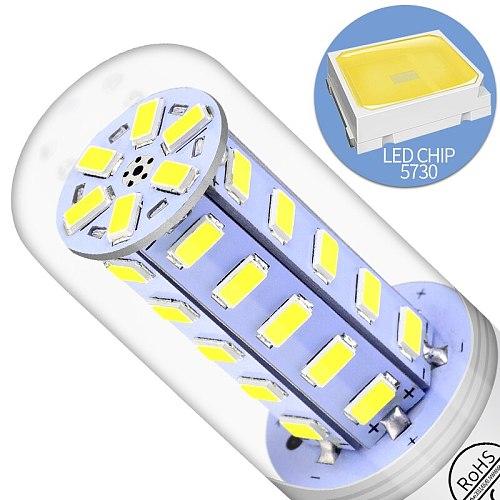 LED E27 Corn Lamp E14 LED Bulb GU10 Lamp Candle Light Bulb 220V G9 Chandelier Home Lighting 24 36 48 56 69 72LEDs B22 Bombilla