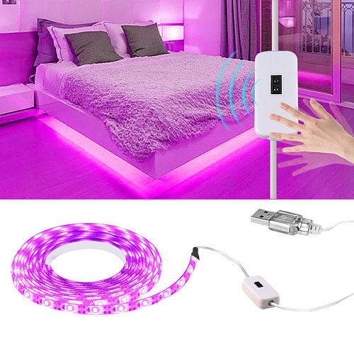 5V USB LED Grow Light Full Spectrum waterproof LED Strip Lights 2835 60LEDs Phyto Lamps For Greenhouse Hydroponic Plant Growing