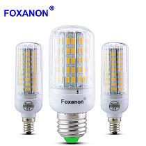 LED Corn Bulb E27 E14 E12 220V 110V LED Lamp 5730 SMD Light 24 to 136 Leds lighting Bombillas Bulbs Lampada Ampoule Spotlight