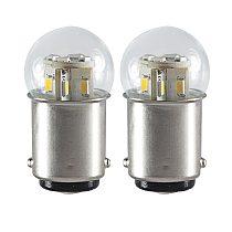 auto led light 1142 BA15D P21D 6V 12V 24V 36V 48V bulb Canbus truck Brake Turn Signal lights 1.5W parking lamp 6 12 24 36 V volt