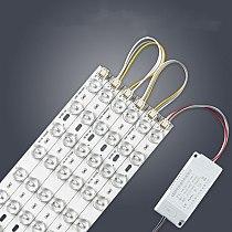LED Strip light board 96W 72W Retrofit light board dimmable 3000k 4000K 6000k ceiling light replace energy-saving lamp H tube