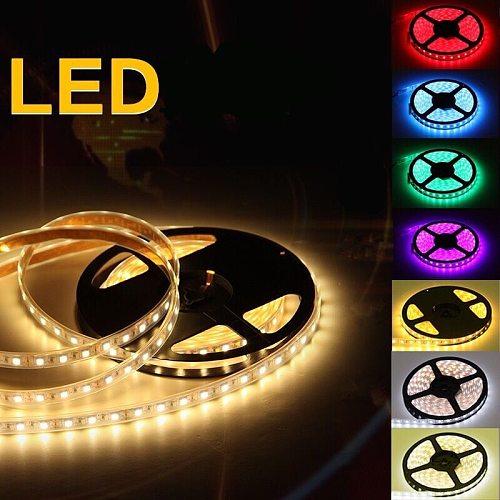 New 5M 300 LED Strip Light IP20 DC12V Ribbon Tape Brighter SMD2835 Cold White/Warm White/Ice Blue/Red/Green/blue