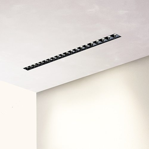 Unvisible LEDs Unit Magnetic Linear Simple Design 0-10V LED Dimming Embedded Trimless Light Dimmable Ceiling Spot 30 deg. 90Ra