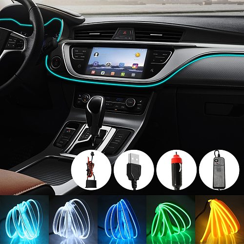 LED Strip Neon Sign Led Neon Light Under El Flexible Wire Soft Tube Lights Car Sign Christmas Anime/Body Woman/Rooms Rope Light