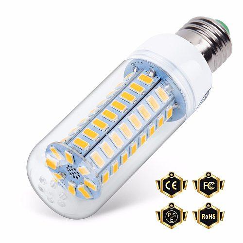 GU10 LED 220V Lamp E27 Corn Bulb E14 Led Candle Light Bulb 5730 ampolletas led casa 24 36 48 56 69 72leds Energy Saving Lighting