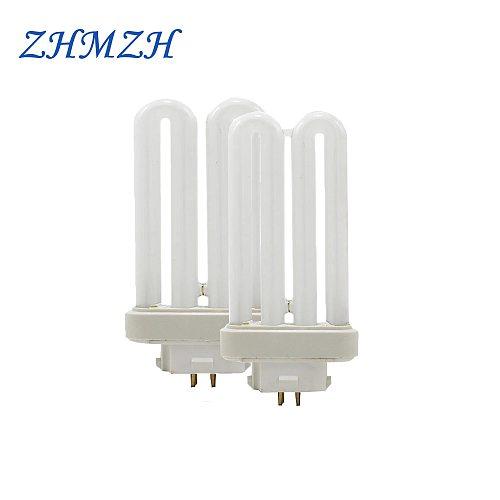 ZHMZH Four Needles Fluorescent Light Tubes Square Pins Eye-Protection Lamp-Tube 6500K Energy Saving Lamp 15W 27W G10q