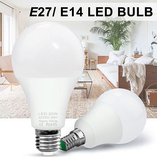 E27 Spot Light Bulb 3W Ampoule LED Spotlight 220V Indoor Energy Saving Lampada Focos Lamp LED 20W E14 Spot Light Bulbs AC 240V