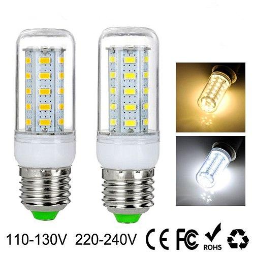 LED Bulbs light AC 110V E27 24 36 48 56 69 72   LEDCorn lamp 220V With SMART IC Protection Power