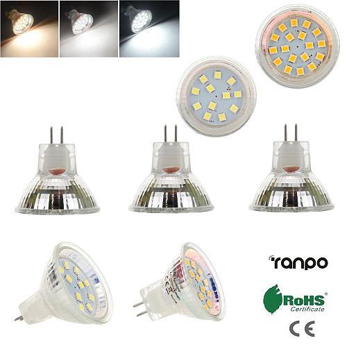 MR11 GU4 Mini LED Spotlight Bulbs 12V 24V 2835 SMD 2W 3W 12LEDs 18LEDs Bright Cool Warm White Lamp Replace 10W 20W Halogen Light