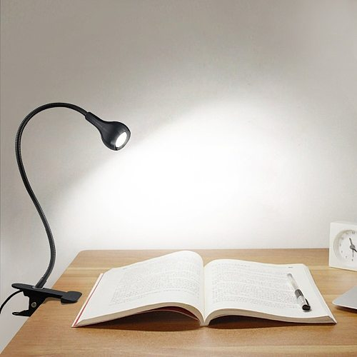 LED Desk Lamps USB Cable Powered Table Lamp Bendable LED Light lampka biurkowa kids gift lampe de bureau bedroom lighting