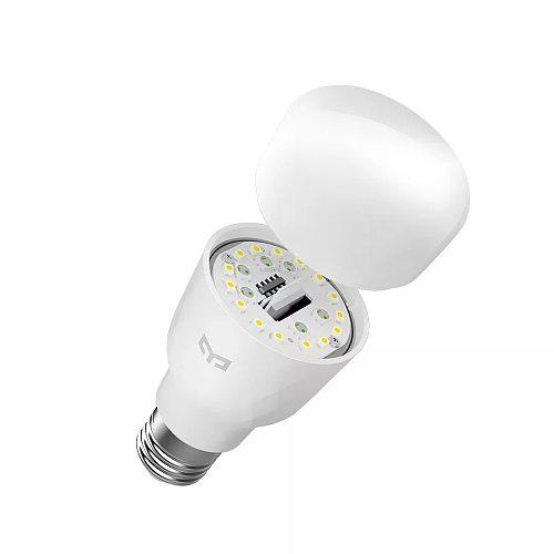 Yeelight 1S Smart LED Bulb Colorful 800 Lumens 8.5W E27 Lemon RGB Smart Lamp For Smart Home App White/YLDP13YL