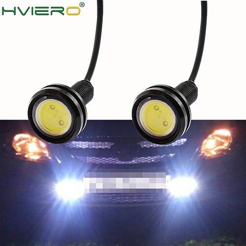 2X 23mm Eagle Eye Light 9w Dc 12v Auto Led Daytime Running Light Fog Backup Aoto Motor Parking Signal Lamps Waterproof Fog Light