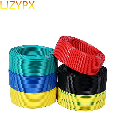 Single Core Stranded Flexible Soft Cable 20/18/17/16/14/12/10/8 Awg 0.5/0.75/1/1.5/2.5/4/6/10 Square Copper BVR Electrical Wires
