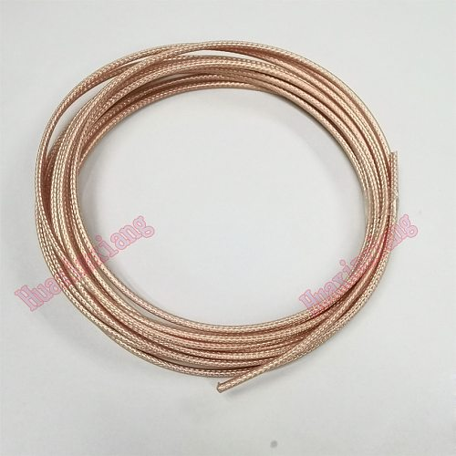 10Meter/Lot RG316 RG-316 Coaxial Antenna Wire Cable 50ohm Low Loss RF Pigtail Adapter Silver-plated/High frequency