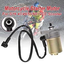Motorcycle Starter Motor Start Motor For GY6 47/49/50/60/72CC Scooter Moped ATV Quad 139QMB GY6 Go Cart ATV Accessories