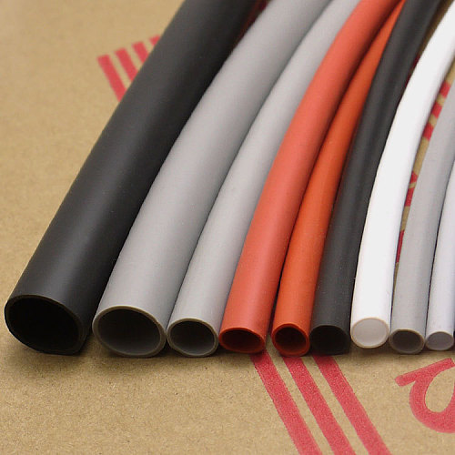 Diameter 5mm Silicone Heat Shrink Tube Cable Sleeve Soft Elastic Insulated Wire Wrap Line Protector High Temperature Colorful