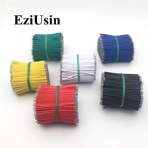 Tin-Plated Breadboard PCB Connector Solder Cable 5cm 8cm 10cm 15cm 20cm 30cm Jumper Tin Conductor Stranded Wires 1007-22AWG