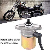 Motor Electrical Starting Motorcycle Starter Motor for GY6 50cc/60cc Motor Zinc-iron Alloy Motor Electric Starting for Motor gy6