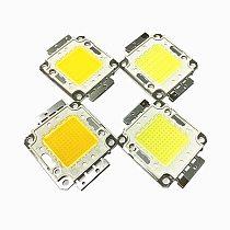 2pcs/lot 10W 20W 30W 50W 100W COB LED Chip Lamp Bulb Chips for Spotlight Floodlight Garden Square Integrated LED Light Beads