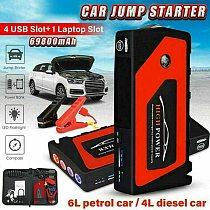 Car Jump Starter Power Bank 69800mAh pack Portable Car Battery Booster Charger 12V Starting Device Petrol Diesel Car Starter