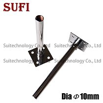Dia 10mm inner tooth iron pipe straight tube With base for DIY lamp chandelier ceiling lamp Desk Lamp Floor Light