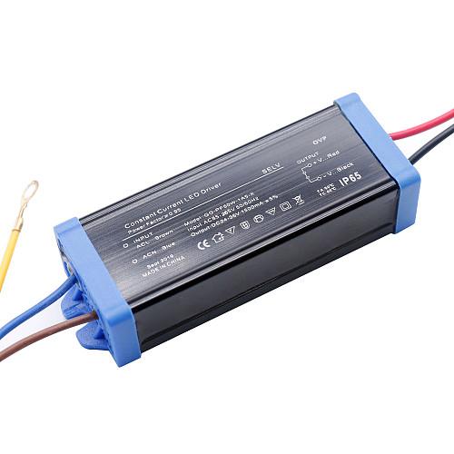 50W 30W 20W Waterproof IP65 LED driver AC220V Power Supply constant current voltage DC24-36V LED lighting transformer DIY
