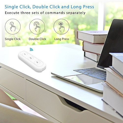 Tuya Smart Life ZigBee Smart Home Wireless Switch 3 Gangs Remote Tuya Zigbee Hub Required No limit to Control Home Device