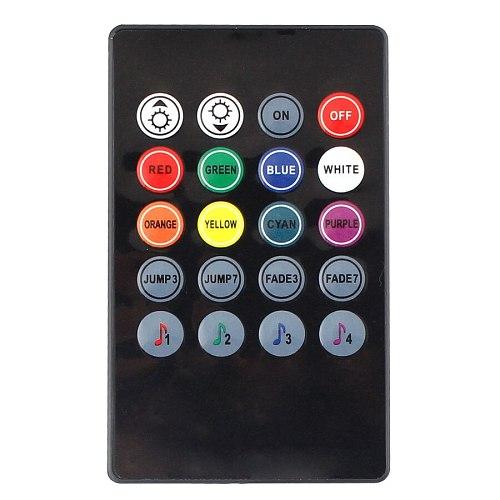 20keys12V LED Remote Controller Music Sensor RGB Wifi Controller Sound Voice For 2835 3528 5050 LED Strip Lights Changed Color