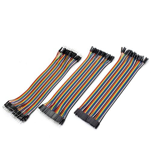 Dupont Wire Jumper Wires arduino Dupont Cable Jumper copper Wire DIY Line 10CM 20CM 30CM M to M/F to M/F to F Dupont Jumper Wire