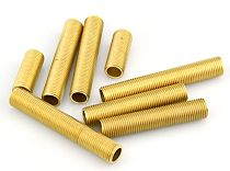 Qaulity M10 Brass  Lamp Tooth Tube Match with M10 Screw Used for all Kinds of Table Lamps Floor Lights Chandelier Lighting