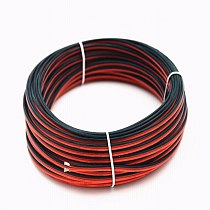 18 AWG Silicone Electrical Wire 10M 2pin Extension Cable Wire Cord Cables Flexible Hook UP Strands Tinned Copper Wire