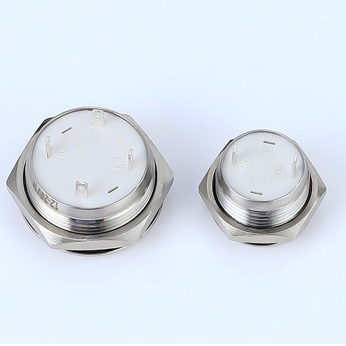 Electric Waterproof Power 12v Led Light Momentary Short Mini Push Button Switch 12/16/19/22/25/30 mm Pressure Switches 220v 24v