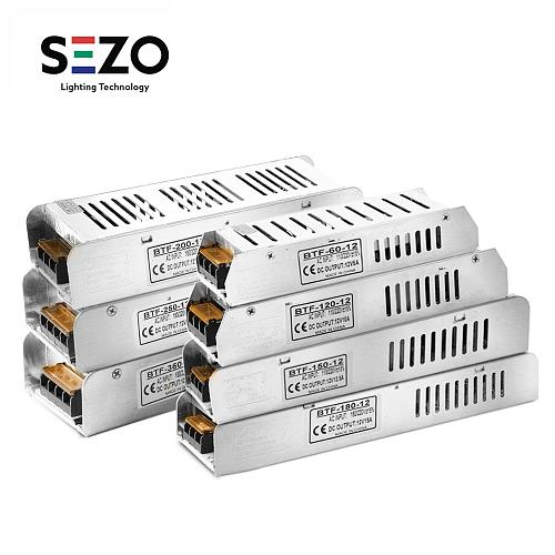12V Power Supply 5A/10A/12.5A/15A/16.5A/20A/30A Switch LED Transformer AC 110V - 220V LED Driver Adapter Lighting Transformers