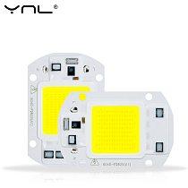 Smart IC LED COB Chip 50W 30W 20W 10W AC 110V 220V 240V No Need Driver LED Bulb Lamp for Flood Light Spotlight Diy Lighting