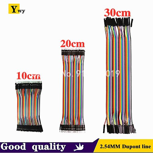 10CM 20CM 30CM 40 pin dupont Jumper Line wire Male to Male Female to Male Female Jumper Wire eclectic Cable cord for DIY