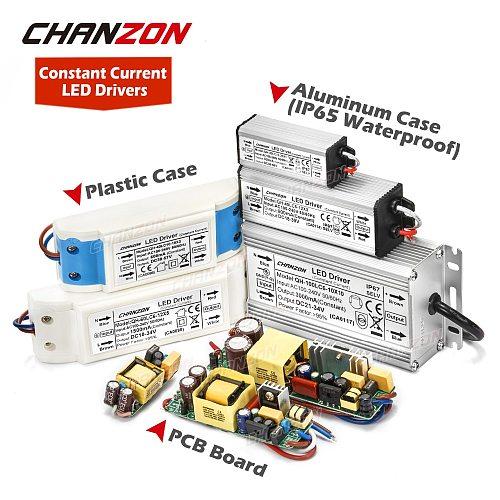 LED Driver 1W 3W 5W 10W 20W 30W 36W 50W 100W 300mA 600mA 900mA 1500mA Waterproof Lighting Transformers for DIY Lamp Power Supply