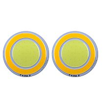 2pcs/Set DC 12V Round LED Chip Dimmable 8W COB Chip High Brightness And Low Degradation
