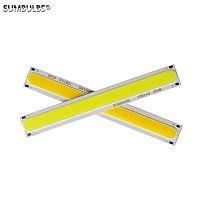 10PCS/Lot Bulk Sale 108x15mm led Light Source DC12V Input 4W Bulb Chip on Board Warm 3000K Cold 6500K COB for DIY Lamp Bulb