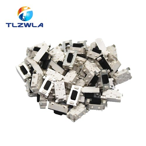 100pcs Micro Tact Switch Touch 3*6*3.5 3x6x3.5 SMD For MP3 MP4 Tablet PC Button Bluetooth Headset Remote Control