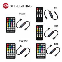 RF14 17 21 28 Keys LED Light Strip Controller for 5050 DIM RGB RGBW RGBCCT 4pin 5pin 6pin LED Lights Tape Controller DC5-24V