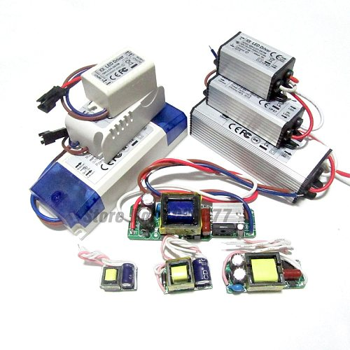 300mA 600mA 900mA High Power LED Driver 1W 5W 10W 20W 30W 36W 40W 50W 60W Constant Current Lighting Transformers Power Supply