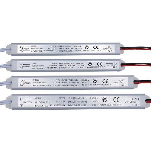 LED Driver 12V Power Supply 220v to 12V Switching LED Driver Lighting Transformer 12V 2A 1A 3A 5A 220V 24W 36W 60W For LED Light