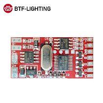 DM-103;3 channel RGB DMX Constant Voltage Decoder Controller,max 2A*3channel output,DMX512,DC12-24V input