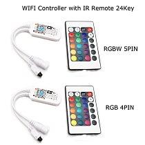 16Million colors Wifi RGB / RGBW led controller smartphone control music and timer mode magic home mini wifi led rgb controller