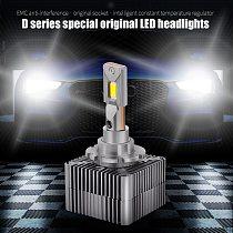2pcs Canbus 20000LM 45W D1S D2S D3S D4S D5S D8S Car headlight bulb No Error D Series Lights 6000K White Auto LED Headlamp 12V