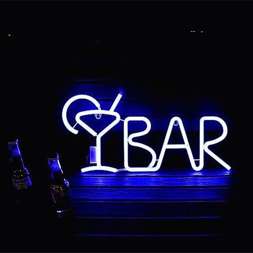 LED neon light letter modeling bedroom room decoration light